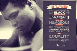 Muhammad Ali I'll Tell You How 36in × 24in Wall Poster - $11.00