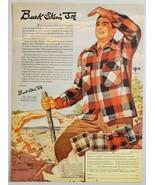 1948 Print Ad Buck Skein Joe 100% Wool Outdoors Coat New York,NY - $12.85