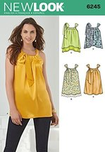 Simplicity Creative Patterns New Look 6245 Misses' Loose-Fitting Top, A ... - $11.27