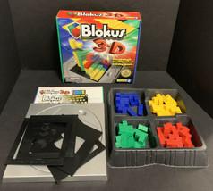 Blokus 3D Block Building Board Game Strategy Mattel Educational Mensa Co... - $32.71
