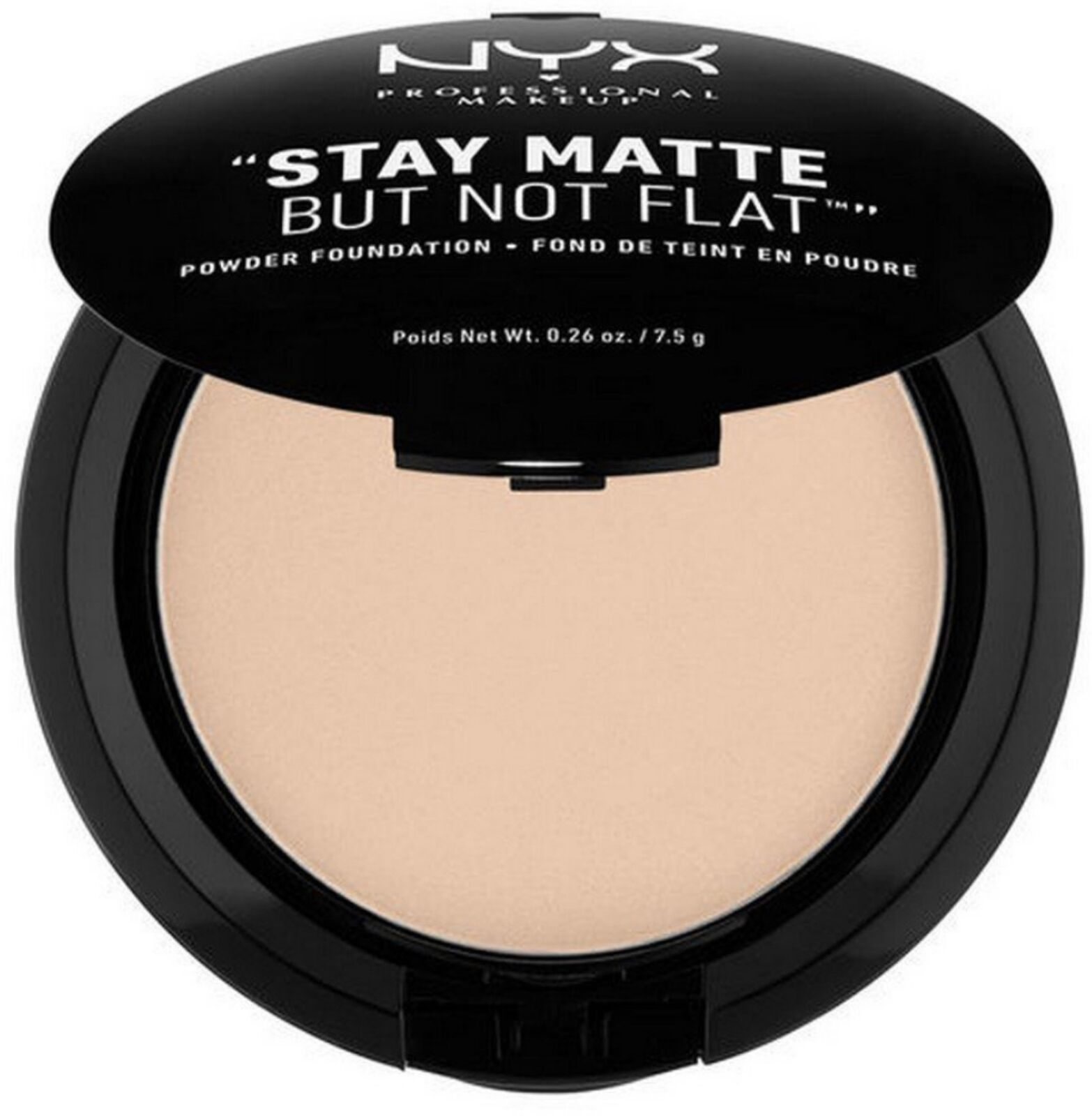Primary image for NYX HD Studio Stay Matte But Not Flat Powder Foundation 0.26 oz - SMP02 Nude