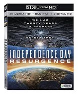 Independence Day Resurgence [4K Ultra HD/Blu-ray, 2016] - $10.36