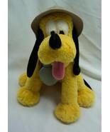 "Disney Parks Animal Kingdom SAFARI PLUTO DOG 8"" Plush Stuffed Animal TOY - $19.80"