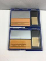Vintage Maybelline Sleek Cheeks Blush x2 Barely Peach Compact Makeup New... - $31.68