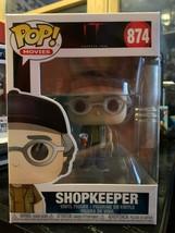 New Funko POP Shopkeeper IT 874 Steven King - $11.00