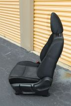 17-18 Nissan Rogue Front Left Driver Manual Seat - Black image 5