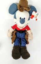 Disney Store Indian Summer Mickey  Mouse Plush Cowboy 16 inch Tag - $34.95
