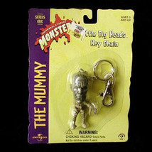 Halloween Monster Little Big Head Keychain New Mummy - $18.99