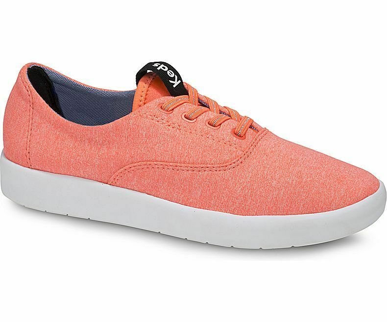 Keds WF58211 Women's Studio Leap Coral Shoes, 6 Med
