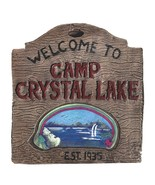Jason Voorhees Friday The 13th Camp Crystal Sign 18 x 17 x 1.25 inches (... - $138.59