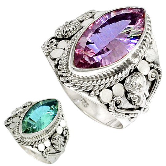 Primary image for Very Beautiful Alexandrite Ring Size 8.5 US, 925 Silver