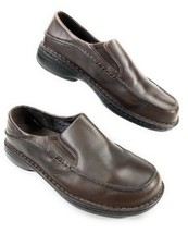 Merrell Women's Tetra Moc Dark Brown Leather Slip On Loafer Shoes  9 US,... - $39.59