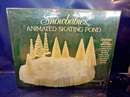 Dept. 56 Snowbabies Animated Skating Pond  NIB - $37.40