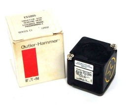 NIB CUTLER HAMMER E51DS5 INDUCTIVE SIDE SENSING HEAD SER C1