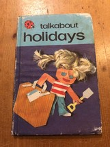 "1981-82 ""TALKABOUT HOLIDAYS"" LADYBIRD BOOK (50p NET) - $2.61"