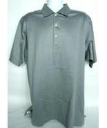 Peter Millar Men's Jacquard Polo XL Short Sleeve Hazel 100% Cotton  - $31.68