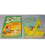 Vintage Whitman Big Little Books Lot Bugs Bunny 2029 Goofy Giant Trouble... - $12.95