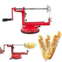 Manual Veg Fruit Twisted Spiral French Fry Cutter - $40.97