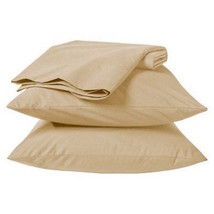 Room Essentials Easy Care Twin Size Sheet Set - Color: Tan - Brand New Sealed - $65.41