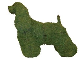 """Cocker Spaniel 28"""" Topiary Sculpture - Wire Frame, Moss Filled or Lighted - $112.42+"""