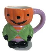 Halloween Jack O Lanterns Pumpkin Coffee Tea Mug Holiday Party Home Deco... - £11.62 GBP
