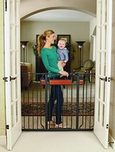 Regalo Home Accents Extra Tall and Wide Walk Thru Baby Gate, Includes Dé... - $45.30