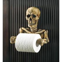 Gothic Toilet Tissue Ghoulish Halloween Skeleton Bathroom Toilet Paper H... - ₨2,889.26 INR
