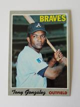 1970 Tony Gonzalez Topps Baseball Card #105 in NM Condition  - $2.00