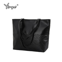 YBYT brand 2018 new tote knitting medium handbag hotsale ladies party pu... - €60,41 EUR