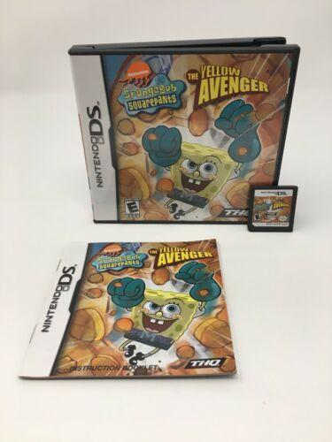 SpongeBob SquarePants: The Yellow Avenger (Nintendo DS, 2005)