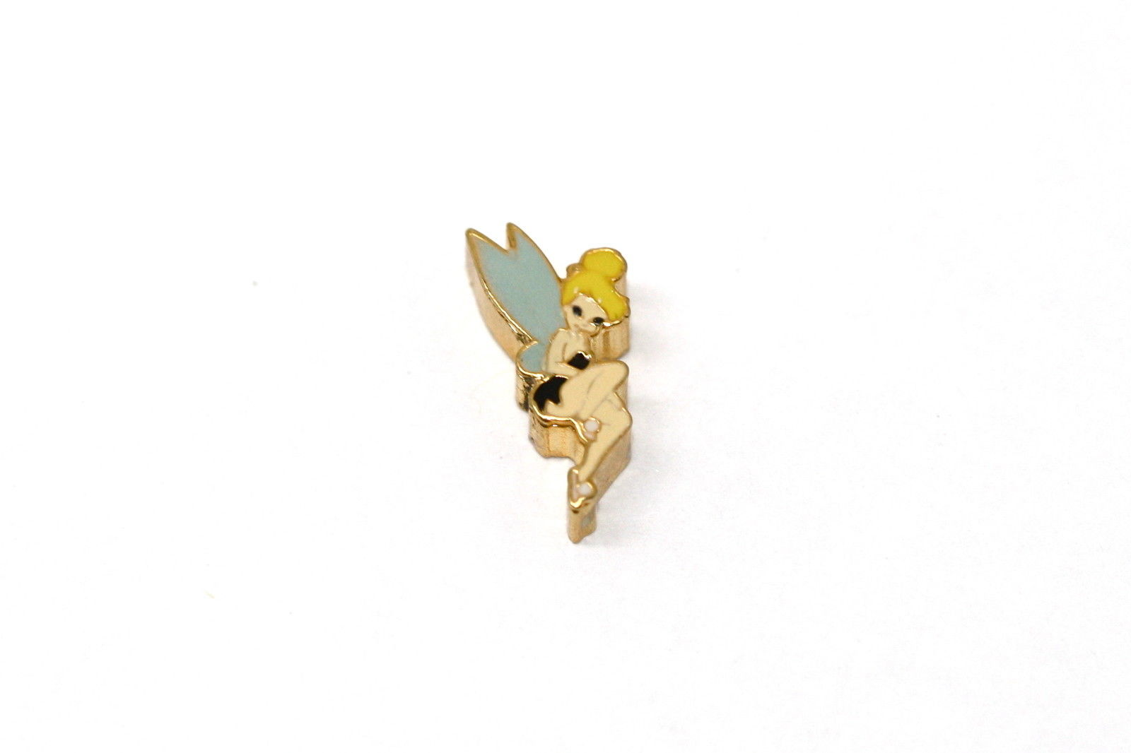 BRACCIALE DISNEY TINKERBELLE FAIRY GOLD STAINLESS STEEL GOLD PLATED CHARM