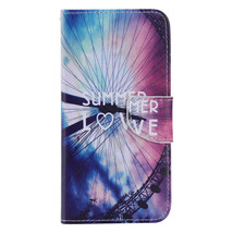Protective PU Leather Smart Mobile Phone Case Cover for Samsung S6edgePlus (KT-m