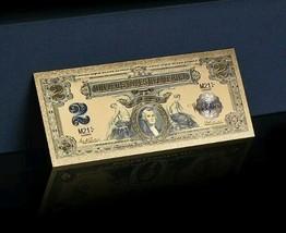 1800s Series $2 Silver Certificate Banknote Rep*W/COA~US Se - $10.63