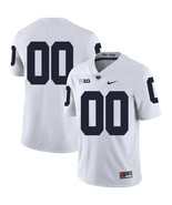 Customized Name Number Men's Penn State Nittany Lions NCAA Jersey White - $61.09