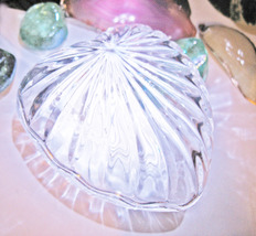 Haunted CRYSTAL HEART MAGNIFYING & SEALING CHEST MAGICK CRYSTAL Witch CA... - $33.00