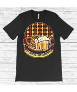 Oktoberfest Sausage Pretzel Beer  T-Shirt, Cool Shirt For Men & Woman, T... - $15.79+