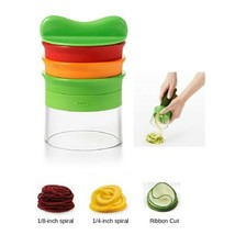OXO Good Grips 3-Blade Hand Held VEGETABLE SPIRALIZER Noodles Zucchini 1... - $25.64