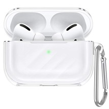 ESR Upgrade Clear Carrying Case for AirPods Pro Case 2019, Air Ripple Pr... - $19.99