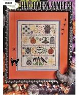 Halloween Sampler cross stitch chart Jeanette Douglas Designs - $18.00