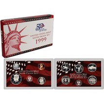 1999-S 90% Silver Proof Set United States Mint Original Government Packa... - £82.96 GBP