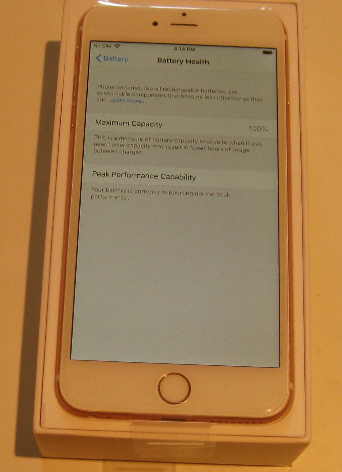 New Unlocked Rose Gold 128gb Iphone 6s Plus and 50 similar items
