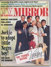 ORIGINAL Vintage December 1969 TV Radio Mirror Magazine My Three Sons We... - $18.51