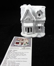 "California Creations Ready to Paint Ceramic 4.5"" Christmas House ""Bakery... - $21.77"