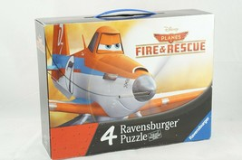 Ravensburger Disney Planes Fire & Rescue Set of 4 Jigsaw Puzzles  Ages 5+ - $6.43