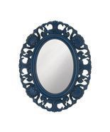 Baroque Style Scallop Shell Wooden Mirror Available in Three Colors - $49.95
