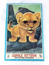 Gig Keane Jungle Kittens Picture Jig Saw Puzzle - $45.00