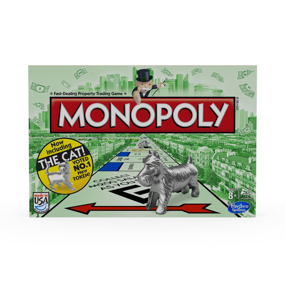 Monopoly Cat Token Board Game 2013 Hasbro