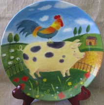 Green Acres by Judith Cleves for Department 56 Farm Collectors Plate - $39.99
