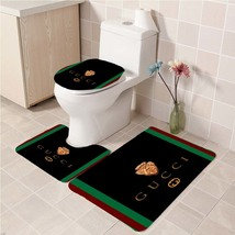 Hot Sale Gucci474 Toilet Set Anti Slip Good For Decoration Your Bathroom  - £16.61 GBP