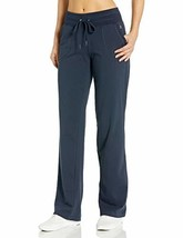 Danskin Women's Drawcord Athletic Pant, Midnight Navy, XL - $37.89